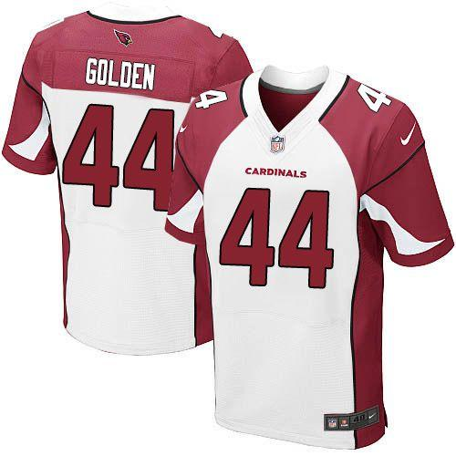 Nike Cardinals #44 Markus Golden White Men's Stitched NFL Vapor Untouchable Elite Jersey