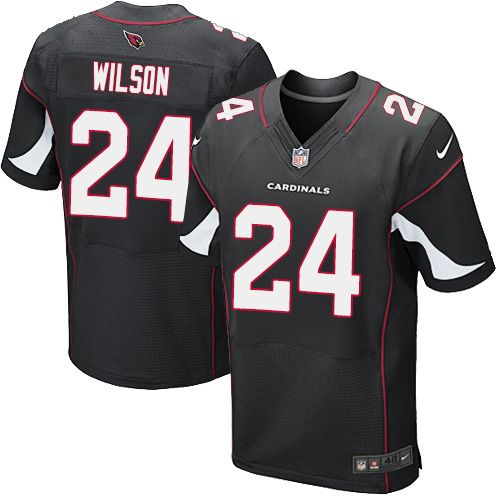 Nike Cardinals #24 Adrian Wilson Black Alternate Men's Stitched NFL Vapor Untouchable Elite Jersey