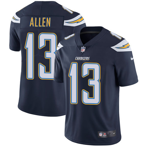 Nike Chargers #13 Keenan Allen Navy Blue Team Color Men's Stitched NFL Vapor Untouchable Limited Jersey