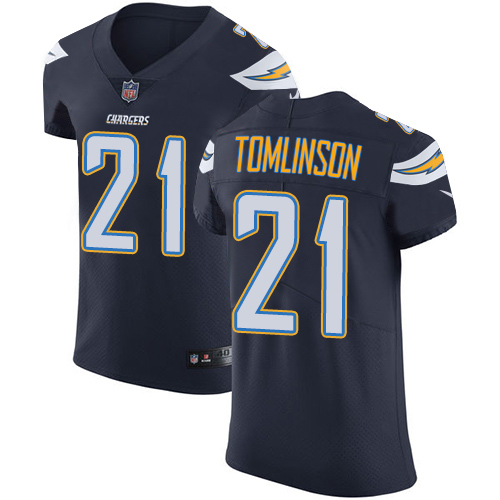 Nike Chargers #21 LaDainian Tomlinson Navy Blue Team Color Men's Stitched NFL Vapor Untouchable Elite Jersey