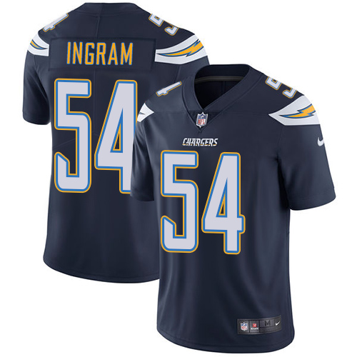 Nike Chargers #54 Melvin Ingram Navy Blue Team Color Men's Stitched NFL Vapor Untouchable Limited Jersey