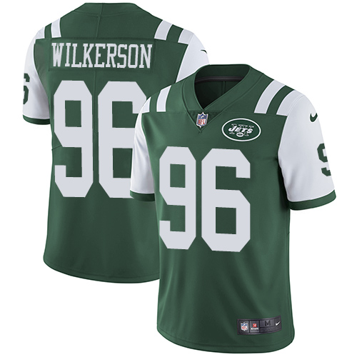 Nike Jets #96 Muhammad Wilkerson Green Team Color Men's Stitched NFL Vapor Untouchable Limited Jersey