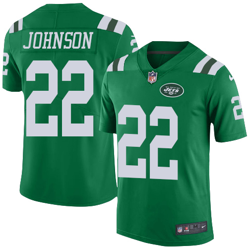 Nike Jets #22 Trumaine Johnson Green Men's Stitched NFL Limited Rush Jersey