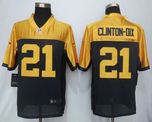 Nike Packers #21 Ha Ha Clinton-Dix Navy Blue Alternate Men's Stitched NFL New Limited Jersey