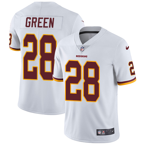 Nike Redskins #28 Darrell Green White Men's Stitched NFL Vapor Untouchable Limited Jersey