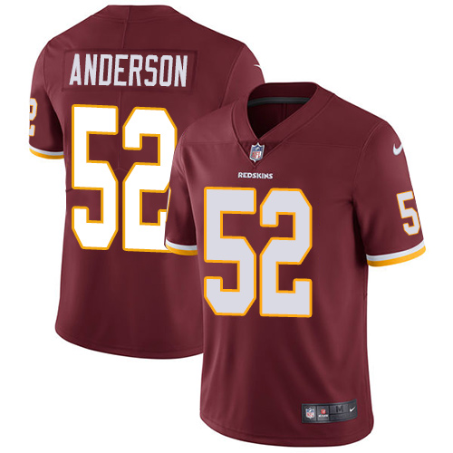 Nike Redskins #52 Ryan Anderson Burgundy Red Team Color Men's Stitched NFL Vapor Untouchable Limited Jersey