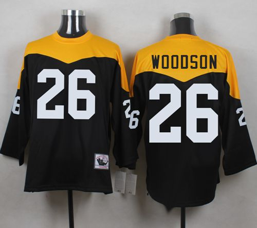 the latest b88f7 0fb69 Mitchell And Ness 1967 Steelers #26 Rod Woodson Black ...