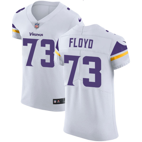 Nike Vikings #73 Sharrif Floyd White Men's Stitched NFL Vapor Untouchable Elite Jersey