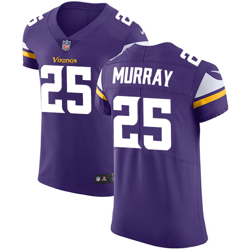 Nike Vikings #25 Latavius Murray Purple Team Color Men's Stitched NFL Vapor Untouchable Elite Jersey