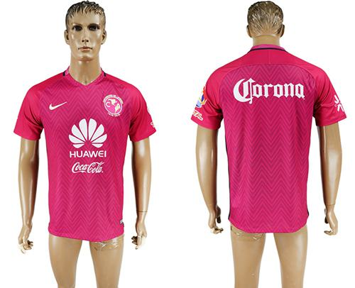 America Blank Pink Soccer Club Jersey