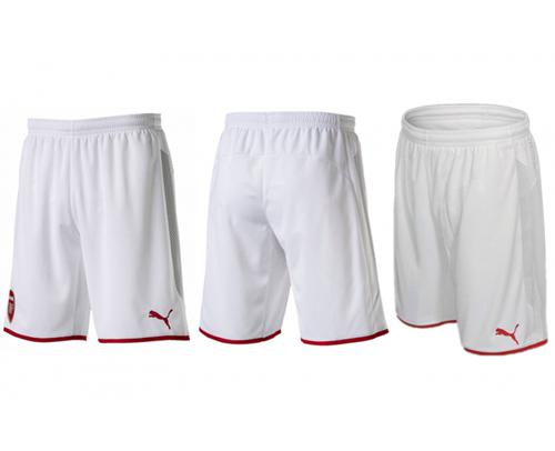 Arsenal Blank White Home Shorts