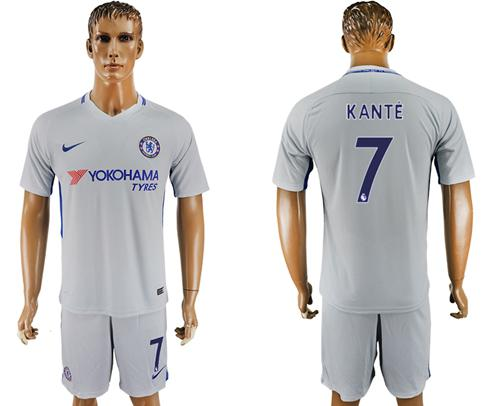 Chelsea #7 Kante Sec Away Soccer Club Jersey