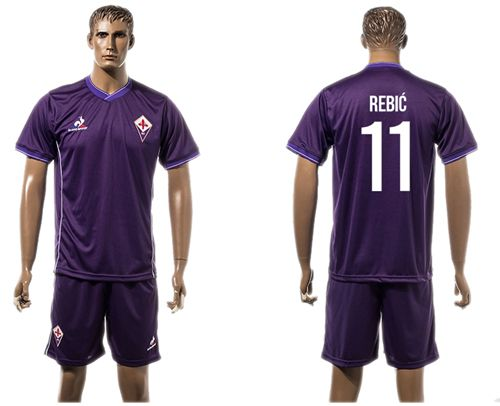 Florence #11 Rebic Home Soccer Club Jersey