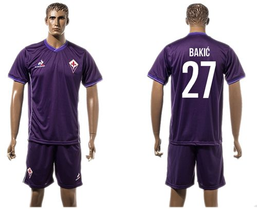 Florence #27 Bakic Home Soccer Club Jersey