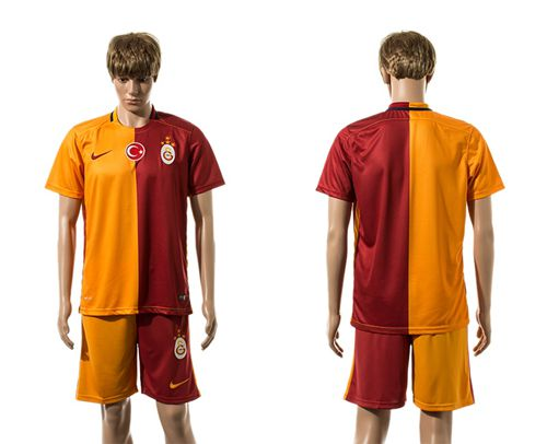 Galatasaray SK Blank Home Soccer Club Jersey