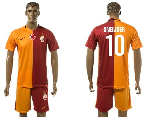 Galatasaray SK #10 Sneijder Home Soccer Club Jersey