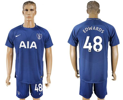 Tottenham Hotspur #48 Edwards Away Soccer Club Jersey