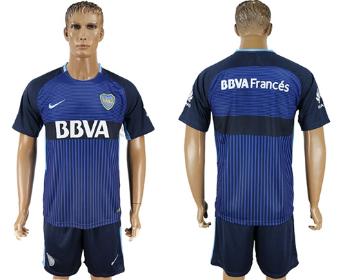 Boca Juniors Blank Sec Away Soccer Club Jersey