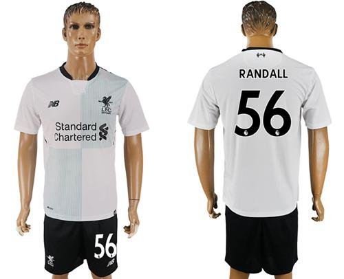 Liverpool #56 Randall Away Soccer Club Jersey