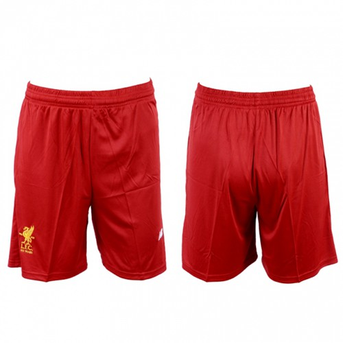 Liverpool Blank Home Soccer Shorts