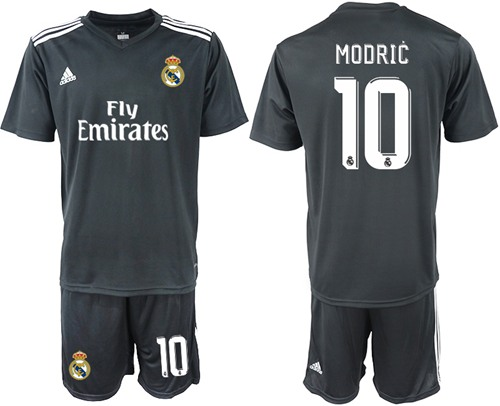 Real Madrid #10 Modric Away Soccer Club Jersey