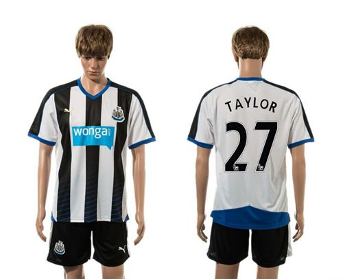 Newcastle #27 TAYLOR Home Soccer Club Jersey