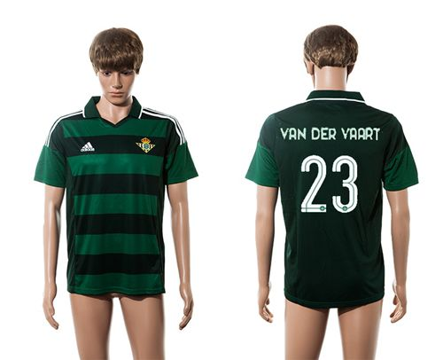 Real Betis #23 Van Der Vaart Away Soccer Club Jersey