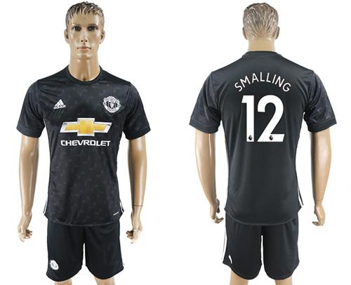 Manchester United #12 Smalling Away Soccer Club Jersey