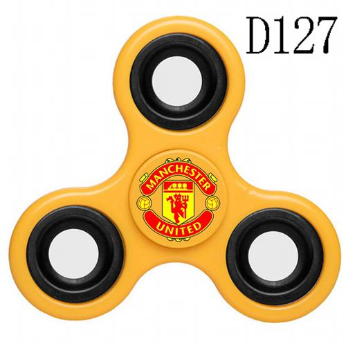 Manchester United 3 Way Fidget Spinner D127-Yellow