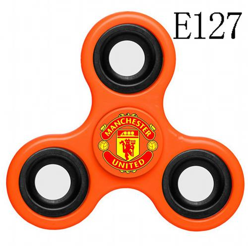 Manchester United 3 Way Fidget Spinner E127-Orange