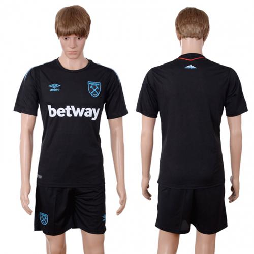 West Ham United Blank Away Soccer Club Jersey