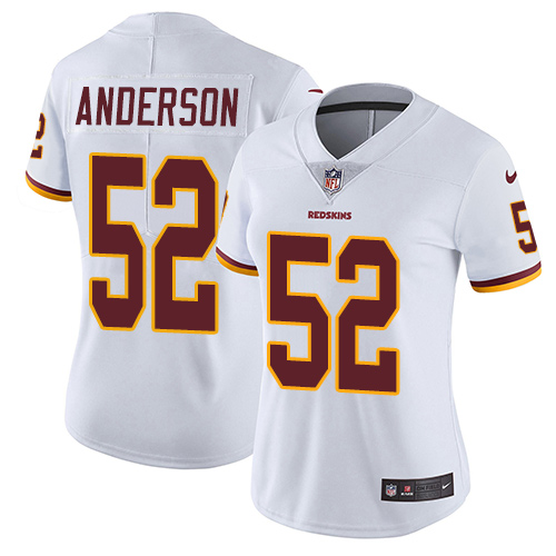 Nike Redskins #52 Ryan Anderson White Women's Stitched NFL Vapor Untouchable Limited Jersey