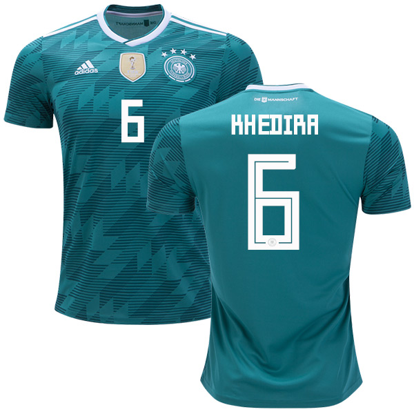 Germany #6 Khedira Away Kid Soccer Country Jersey