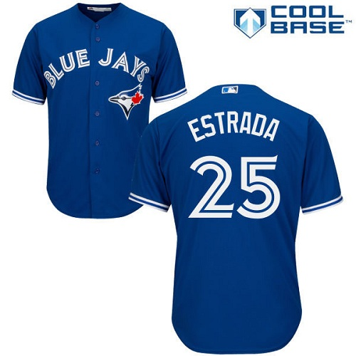 Blue Jays #25 Marco Estrada Blue Cool Base Stitched Youth MLB Jersey
