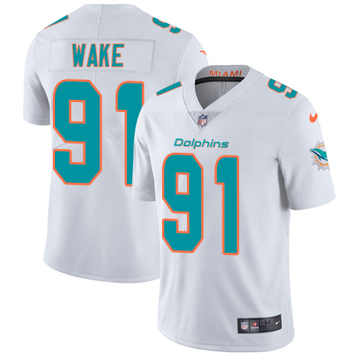 Nike Dolphins #91 Cameron Wake White Youth Stitched NFL Vapor Untouchable Limited Jersey