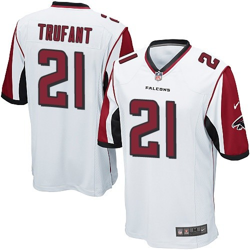 Nike Falcons #21 Desmond Trufant White Youth Stitched NFL Elite Jersey